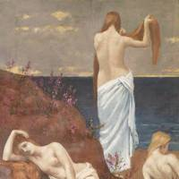 Perennial themes: 'Young Women by the Sea' (1879) | MUSEE D'ORSAY, © RMN-GRAND PALAIS (MUSEE D'ORSAY) / HERVE LEWANDOWSKI /DISTRIBUTED BY AMF-DNPARTCOM