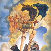 Salvador Dali's 'Allegory of Sunset Air' | MOROHASHI MUSEUM OF MODERN ART