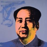 The chairman: Andy Warhol's portrait of Mao Zedong. | ANDY  WARHOL: MAO 1972, © AWF; COURTESY  THE ANDY WARHOL MUSEUM
