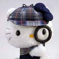 Elementary, my dear feline: Hello Kitty does Holmes. | KYODO