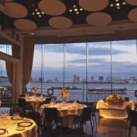 By the dock of the bay: Fine food with a view at restaurant T'suki de la Mer. | KIT NAGAMURA