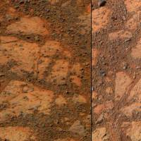 Mars 'jelly doughnut' rock intrigues NASA scientists