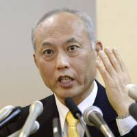 Masuzoe jumps into race, touts value of open policy debate