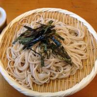 Simple sustenance: Plain, chilled zaru soba noodles are an easy and refreshing taste of tradition. | ANANDA JACOBS