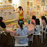 Fresh canvas: Design Festa Galleries often holds free arty workshops for the kids.