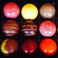 Boxed love: A selection of chocolates from Hugo & Victor, one of 36 participants at Salon du Chocolat. | ANGELA ERIKA KUBO