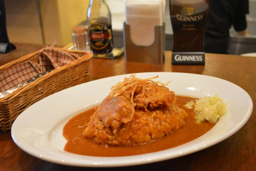 Touch of tipple: Irish Curry makes it roux with Guinness beer.
