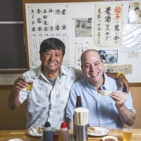 Real recipes: 'Japanese Soul Cooking,' by food-loving New Yorkers Tadashi Ono and Harris Salat, extols the virtues of down-home Japanese favorites such as gyōza (pork dumplings) and oyakodon (chicken and egg on rice). | TODD COLEMAN © 2013