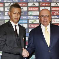 Honda targets Milan success