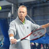Coach serves up support for Japan's budding tennis stars