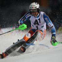 Norway's Kristoffersen notches first win in World Cup slalom