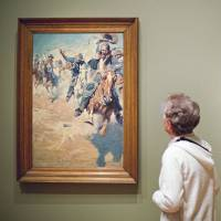Paintings by N.C. Wyeth. | AP
