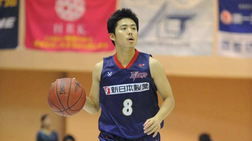 Lower expectations: After a championship runnerup season, guard Akitomo Takeno and the Rizing Fukuoka (11-17) are trying to climb into playoff position.
