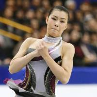 Pride and poise: Kanako Murakami made her first Olympic team with a clutch performance under huge pressure at the recent Japan nationals. | KYODO