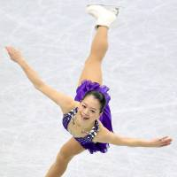 Perseverance: Akiko Suzuki won her first national title last month in Saitama at the age of 28 in her 13th appearance at the senior All-Japan Championships. | KYODO