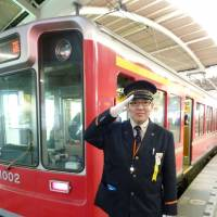Witty tram chief draws plaudits in Hakone