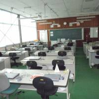 One of the classrooms is designed to teach teens computer skills.  | TOMOHIRO OSAKI