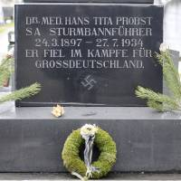 Nazi emblems on Austrian graves defy ban