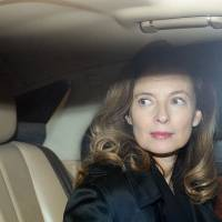Newly single, former French first lady visits India for charity events