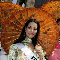 Former Miss Venezuela slain in highway robbery