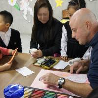 Back to Tohoku: Geoff Read creates collaborative artworks with young Fukushima evacuees. | COURTESY OF GEOFF READ