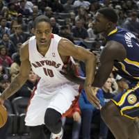 Fast-improving Raptors beat Pacers at their own physical game