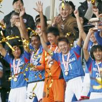 Marinos take Emperor's Cup, settle the score with Sanfrecce