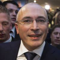 Khodorkovsky to campaign for release of political prisoners in Russia
