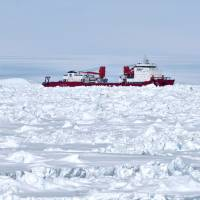 Chinese ship participating in Antarctic rescue now stuck in ice