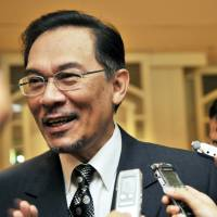 Malaysia opposition chief didn't have visa