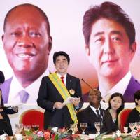 Abe pledges $83.4 million in aid to stabilize Africa's Sahel region