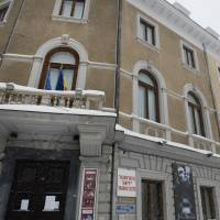 Historic Yiddish theater damaged by snowstorm in Romania