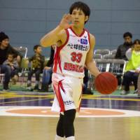 Getting the job done: Iwate's Tsubasa Yonamine has 98 assists and 37 turnovers this season. | HANA SUZUKI