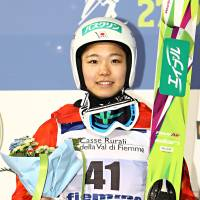 Ski jumper Takanashi retains crown