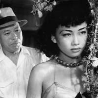 In the beginning: Keiko Awaji, who died of esophageal cancer Saturday at the age of 80, features in the 1949 Akira Kurosawa movie 'Nora Inu' ('Stray Dog'). | TOHO CO./KYODO