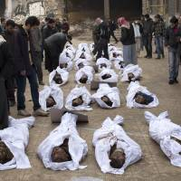 U.N.: Mass al-Qaida-linked executions in northern Syria could be war crime