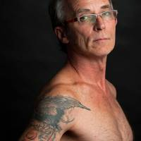 Baltimore resident Dan Whitson, 55, is part of a growing trend that has seen more Americans over the age of 50 getting tattoos. | WASHINGTON POST BY MARLON CORREA