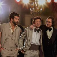 Do a little dance: The cast of 'American Hustle' includes (from left) Amy Adams, Bradley Cooper, Jeremy Renner, Christian Bale and Jennifer Lawrence. | © 2013 CTMG