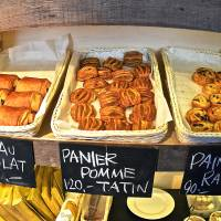 French touch: Pastries abound at Niseko Supply Company, but be sure to check out the shop's set meals that include its popular potato-onion soup.  | ETHAN SALTER