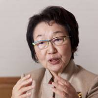 Yoriko Kawaguchi, distinguished fellow, Tokyo Foundation; professor, Meiji University; former minister for foreign affairs and minister of the environment; former member of the House of Councillors.