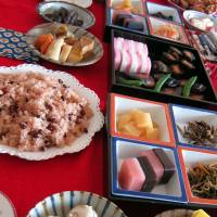 A typical osechi or New Year's feast. | MAKIKO ITOH, MICHIKO EBINA