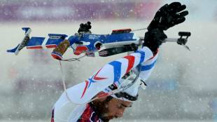 2014 Sochi Olympics men's biathlon 15-km mass start