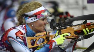 2014 Sochi Olympics women's 12.5 km mass start biathlon