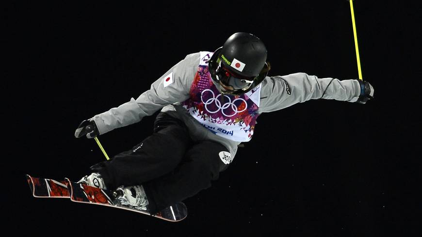 Japan's Ayana Onozuka competes in the women's ski halfpipe final on Thursday at the Sochi Olympics.