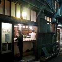 No French flag flown here, but step inside to experience one of Tokyo's tastiest bistros. | ROBBIE SWINNERTON