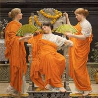 Changing aesthetics: Albert Moore's 'Midsummer' (1887) | BOURNEMOUTH, THE RUSSELL-COTES ART GALLERY AND MUSEUM © PHOTOGRAPH REPRODUCED WITH THE KIND PERMISSION OF THE RUSSELL-COTES ART GALLERY &; MUSEUM, BOURNEMOUTH