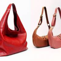 Bags of history: A selection of handbags handmade by Katsuhiko Nakano for his brand His-Factory
