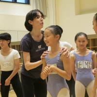 Like so: ABT instructor Harriet Clark works with K-Ballet School pupils in rehearsals for 'The Nutcracker.' | NOBUKO TANAKA