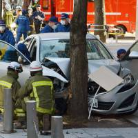 Driver in Nagoya rents car, runs over 13 people