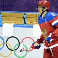 Fan favorite: Russia's Alex Ovechkin says it's a 'huge honor for me to represent my country.' | AFP-JIJI